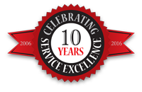 10 Year of Service Excellence